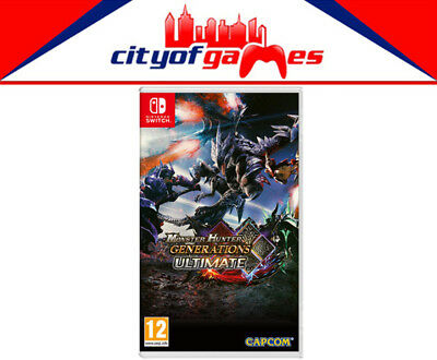 Monster Hunter Generations Ultimate Nintendo Switch Brand New & Sealed In Stock