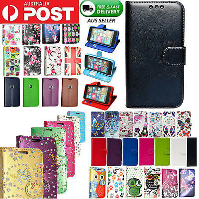Flip Magnet Leather WALLET Case Cover for Samsung Galaxy S9 S8 Plus