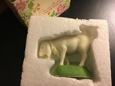 Department 56 Easter Collectible Lamb Standing- 2012 4024872 NIB