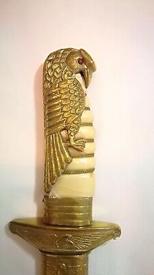 Rare WWII WW2 Chinese Nationalist Officers Air Force China Flying Tiger Dagger