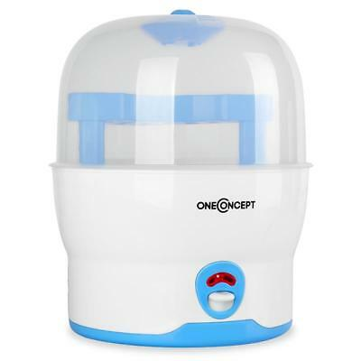 Electric Bottle Steriliser 6 Baby Bottles Pacifiers Steam Sterilisation System