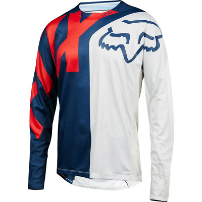 Fox Racing 2018 Youth Demo Long Sleeve L/S Jersey Blue/Red