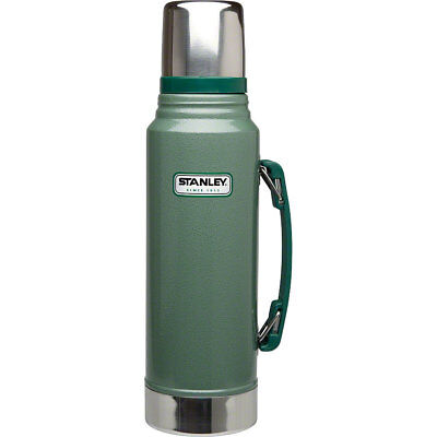 Stanley Classic Thermos Water Bottle: 35oz; Green