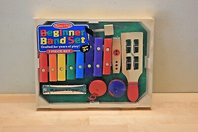 Melissa Doug Beginner Band Set Toy Musical Instruments