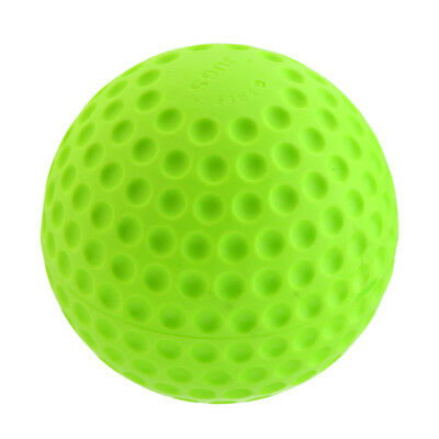 """Deluxe PU 12"""" Dimpled Pitching Machine Baseball Practice Ball Safety Ball"""