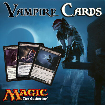 Vampire Cards - Casual / EDH / Cube - Mtg - Buy 2 Get 1 Free! (Add 3 to basket)