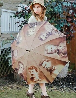 Victorian Trading Co My Lover From Another Life Vintage Photograph Umbrella