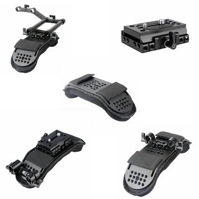 New Shoulder Pad w/with Quick Release Mount Base fr Manfrotto Standard Accessory