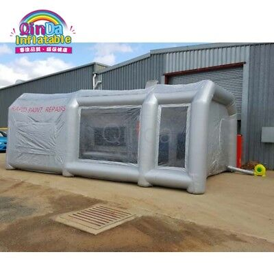 Portable Inflatable Airbrush Car Spray Paint Booth ,Carbon Filter Standard Size