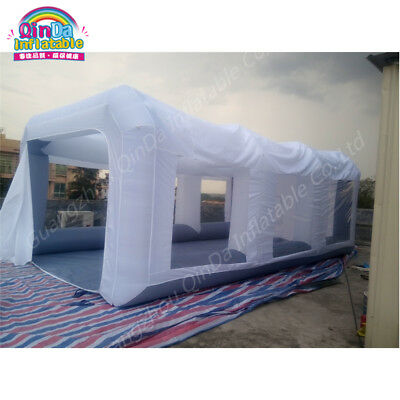 Inflatable Spray Booth Inflatable Car Painting Cabin With 2 Blowers 7m*4m*2.5m