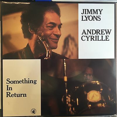 Jimmy Lyons - Andrew Cyrille - Something In Return - Black Saint 120 125 1 - NM