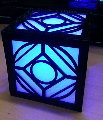 Star Wars Holocron Jedi Lampe Lighted PROP COSPLAY