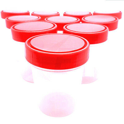 120ml Universal Specimen Container Screw Top Sample Bottle Craft Pot NHS