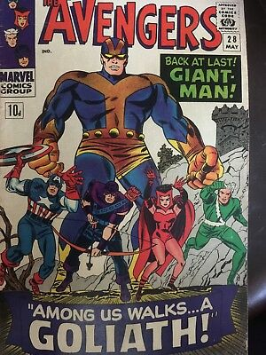 Avengers 28 Silverage Giant man Joins