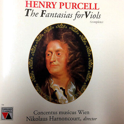 e032236d2 PURCELL  FANTASIAS FOR Viols-M1984DGTL LP PROMO London Baroque ...
