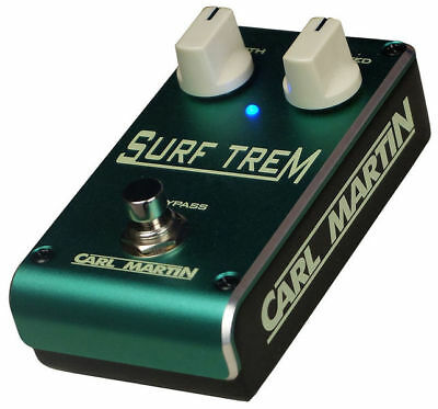 Carl Martin Surf Trem Tremolo Pedal insured & trackable shipping