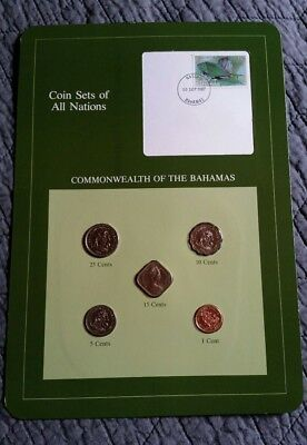 Coin Sets Of All Nations- Commonwealth of the Bahamas
