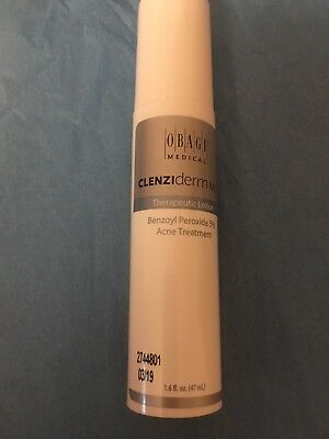 Obagi CLENZIderm M.D. Acne Therapeutic Lotion 1.6 oz Brand New
