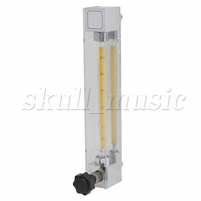 LZB-6 Acrylic Water Liquid Flowmeter 2.5-25LPH Flow Measuring Instrument Tool