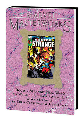 Marvel Masterworks Doctor Strange Vol 244 Hardback Variant Cover Sealed