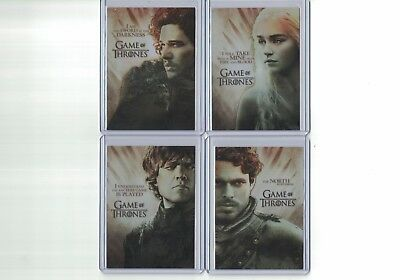 Game of Thrones Season 2 PL1 TYRION LANNISTER Plastic Gallery Rare Chase Card