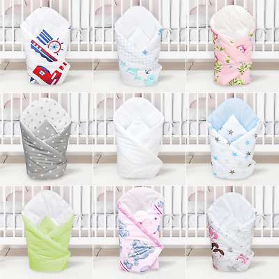 Baby Swaddle Wrap Blanket / Newborn Swaddling Sleeping Bag 0 to 3 Months