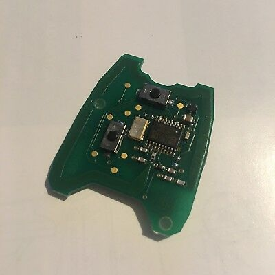 Genuine Peugeot Citroen Remote Key Fob Circuit Board Valeo B000787B