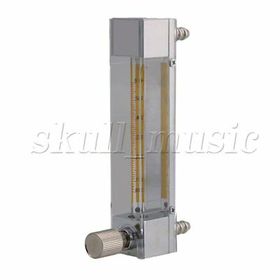 "LZB-3 60-600ml/min Clear Flowmeter Flow Meter for Gas Oxygen 5.4"" Height"