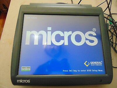 400814-001C Micros WS5 Workstation 5 POS Touchscreen System