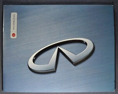 2000 Infiniti Catalog Sales Brochure Q45 I30 G20 QX4 Excellent Original