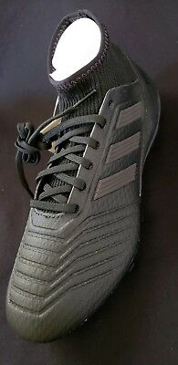 185f75b3352 adidas Predator 18.3 FG Men s Outdoor Soccer Cleat CP9303 Black Black  Blackout