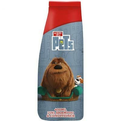 Universal The Secret Life Of Pets Shampoo & Conditioner 400ml