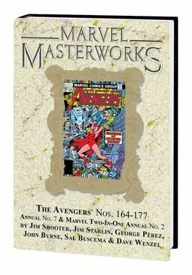 Marvel Masterworks Avengers vol 247 Hardback Variant Cover Edition sealed