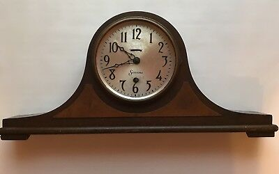 """Sessions Mantle Clock """"As Is"""" Parts Only Doesn't Work."""