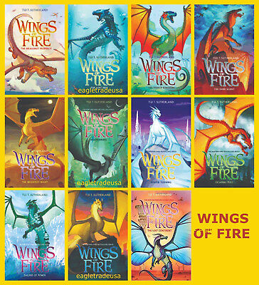 WINGS OF FIRE Series by Tui T Sutherlan HARDCOVER ...