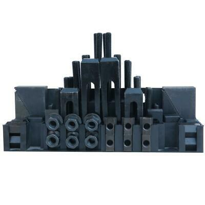 402215 M10 Metric Clamping Kit For Milling Machine 58Pcs With Holder