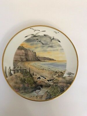 """""""February on the Coast''1979 Franklin Plate By Peter Barrett"""
