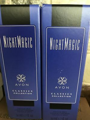 2) Avon Perfume You Choose, Night Magic Timeless Odyssey Sweet Honesty Candid O2