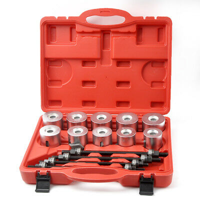Universal Pull And Press Sleeve Kit Bushes Bearing Garage Remover Insertion Tool