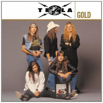Tesla Gold CD 2 Disc Greatest Hits Compilation Hard Rock Metal New Remastered