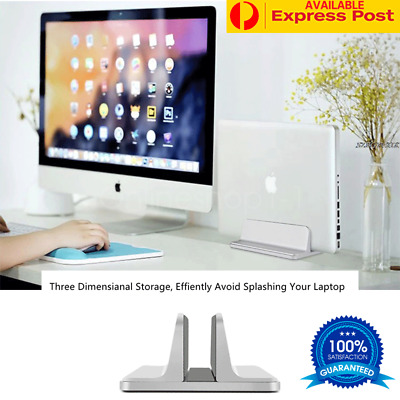 Vertical Laptop Stand Desktop Space Saving Stand Holder for Notebook MacBook Pro