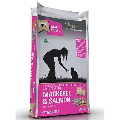 Meals for Meows Grain Free Mackeral & Salmon - Cat Food 20kg