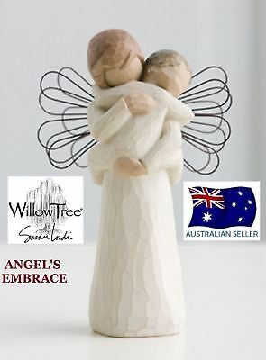 ANGELS ANGEL'S EMBRACE Demdaco Willow Tree Figurine By Susan Lordi NEW IN BOX
