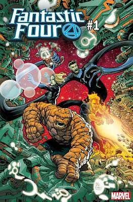 Fantastic Four #1 Powell Var (Marvel 2018) - 8/8/18