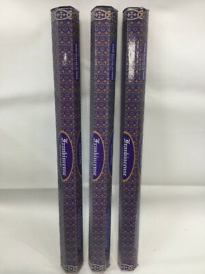 Frankincense Kamini Incense Sticks-long lasting Jumbo 3 Box Pack (total 30 stick