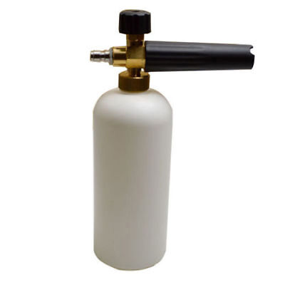 "1/4"" Car Pressure Washer Gun Soap Foam Lance Snow Cannon Foamer Wash Jet Bottle"