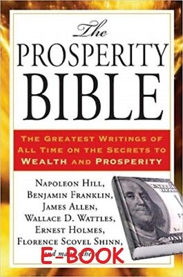The Prosperity Bible by Napoleon Hill EMAILED EPUB PDF KINDLE