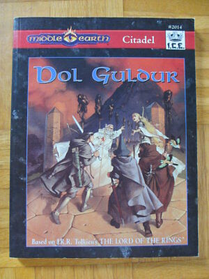Middle Earth Citadel Dol Guldur I.C.E. #2014 Lord Rings Rolemaster mers merp ccg