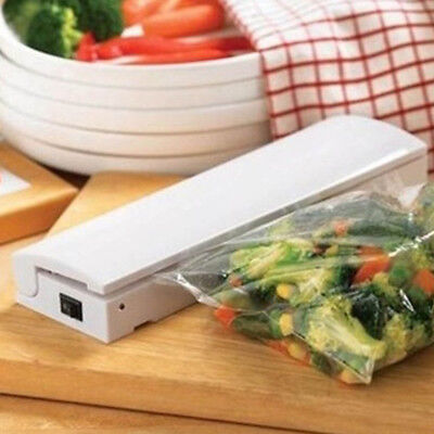 1/2/3/4/5Pcs Mini Food Vacuum Sealer Machine 9V Packing Bag Kitchen DIY Storage