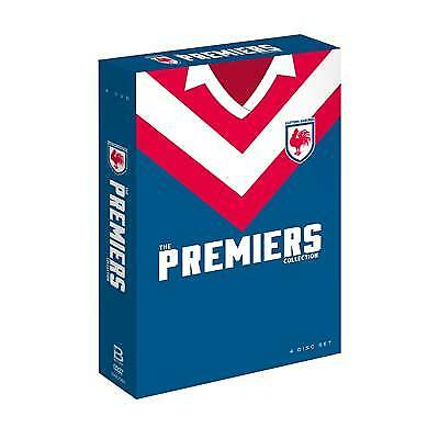 NRL - Sydney Roosters   Premiers Coll (DVD, 2018, 4-Disc Set) (Region 4) New